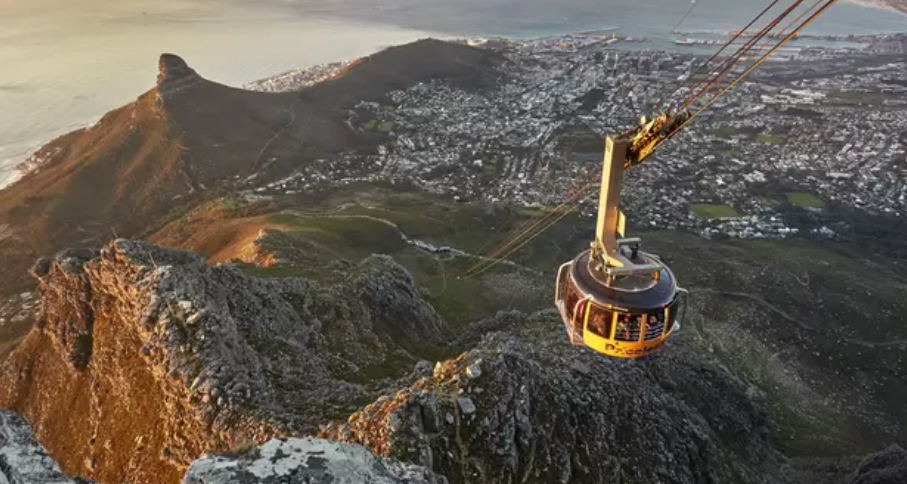 Table Mountain Cableway shutdown