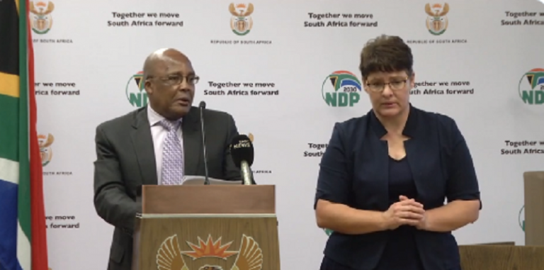 Watch Security Cluster Ministers media briefing ahead of lockdown