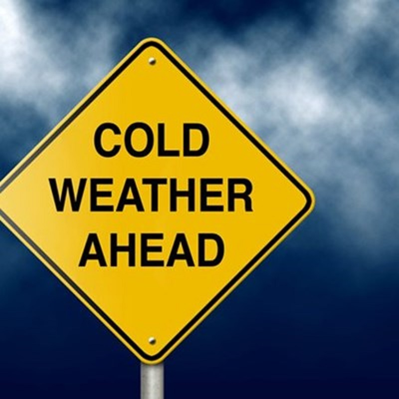 Intense cold front is expected to plummet temperatures in the Western Cape on Monday