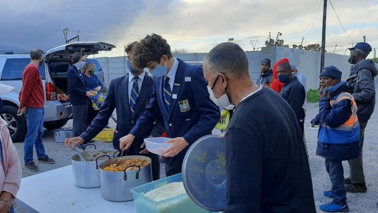 Rondebosch Boys High uses Matric Ball money to feed community