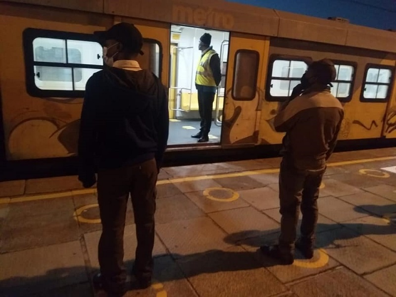 Metrorail resumes operations with trial trips to 'stress test operational plans'