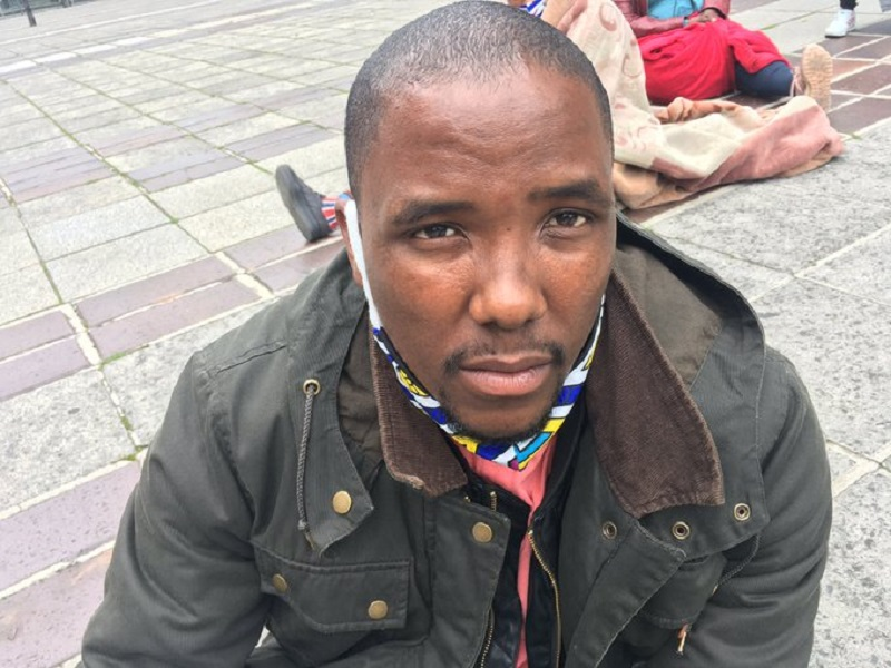Cape Town Mayor claims Bulelani Qholani stripped on purpose during eviction