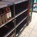 The looting begins: OK liquor store broken into