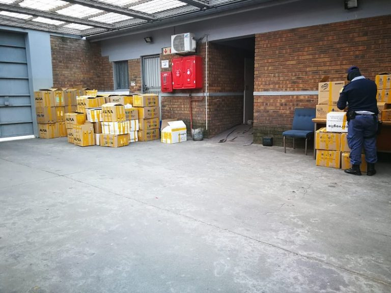 2 arrested in Kraaifontein for the possession of drugs and illicit cigarettes worth an estimated R2-million