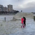 Watch: Sea heights of close to 10m this morning in Sea Point