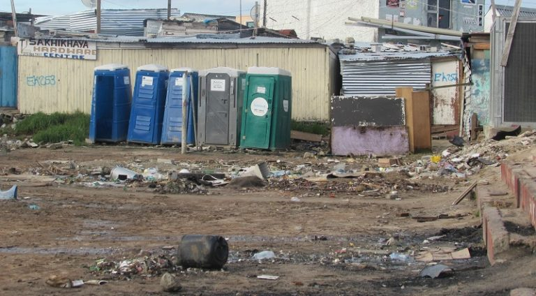 Dunoon residents residents threaten to empty communal toilets on the N7