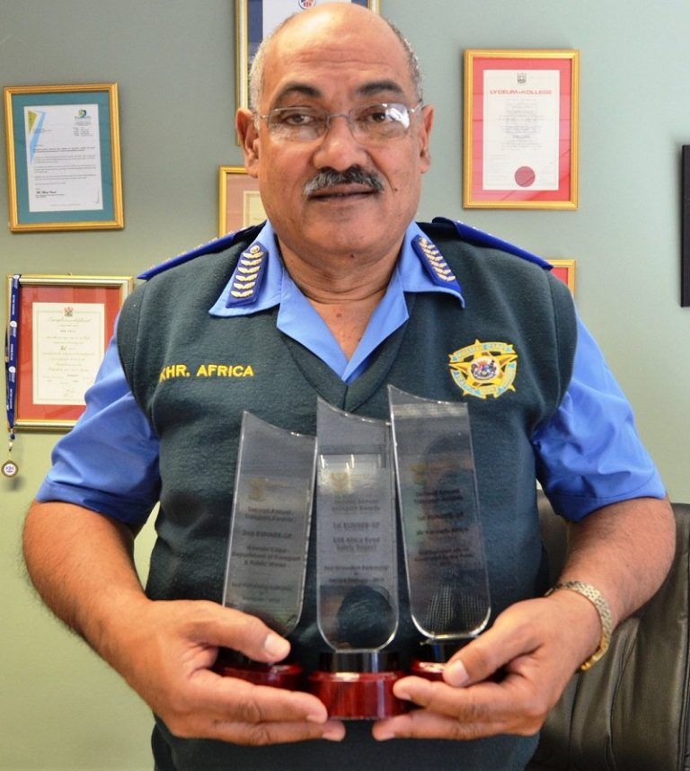 WC traffic chief Kenny Africa retires after 46 years in service