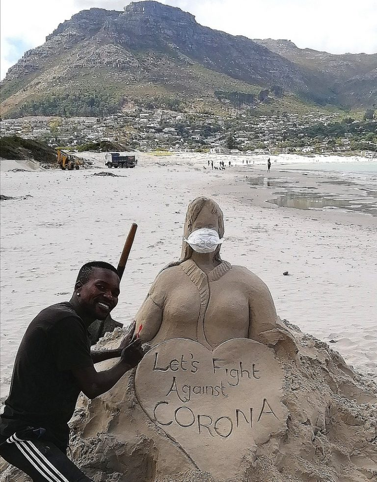 Well known sand sculptor missing