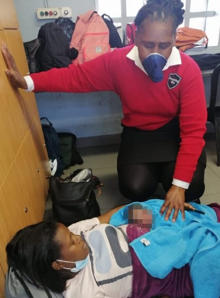 Baby girl delivered safely at Cape Town Station deck