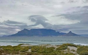 'Angel' spotted over Table Mountain