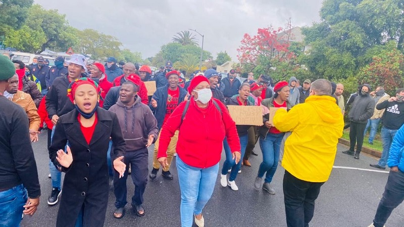 Brackenfell: EFF plans march for Friday