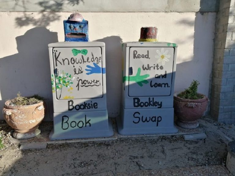 Free book exchange in Bothasig forced to shutdown