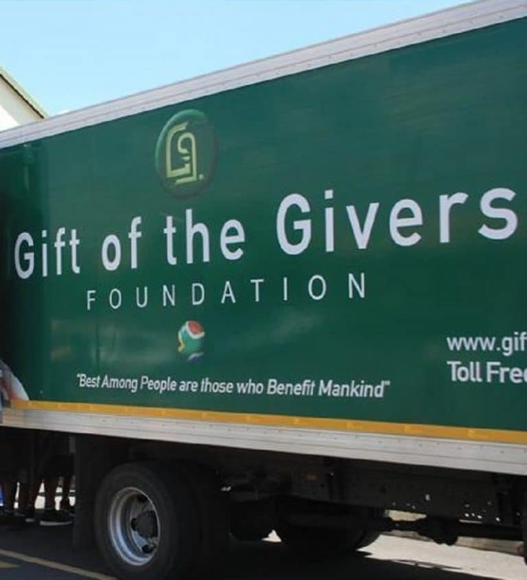 anonymous man from Mossel Bay donates R8 million to Gift of the Givers