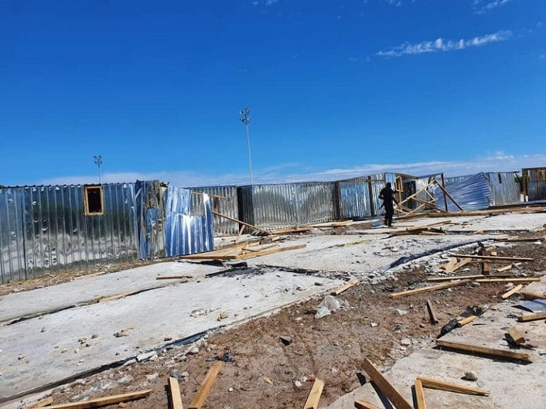 CoCT calls for arrests following arson attack at a Masiphumelele temporary housing project