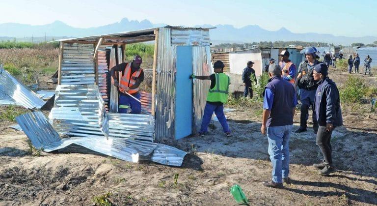 Cape Town's Anti-Land Invasion Unit is unlawful: SAHRC