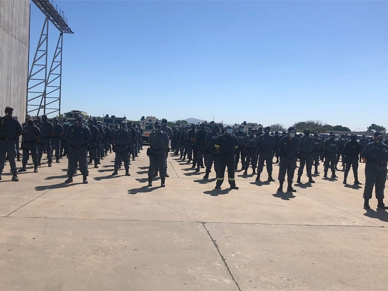 200 additional police officers deployed in the Western Cape