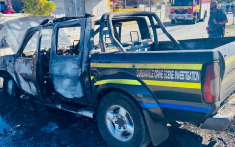 Police vehicle torched in Mfuleni