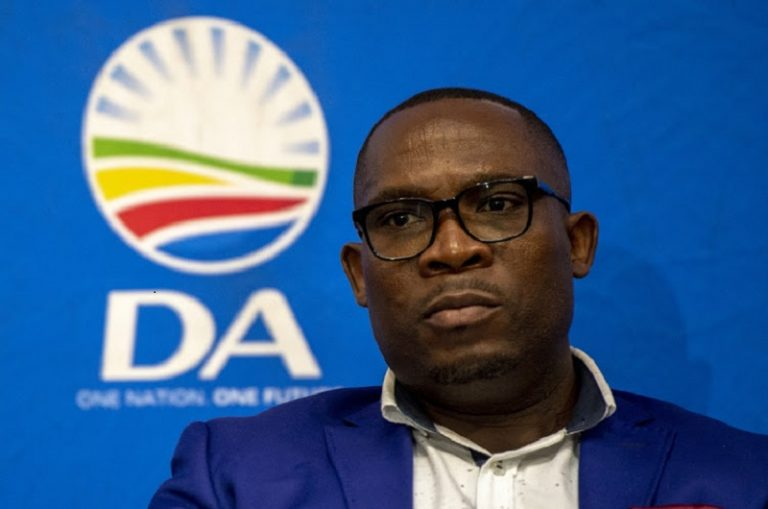 Bonginkosi Madikizela resigns as DA Western Cape leader