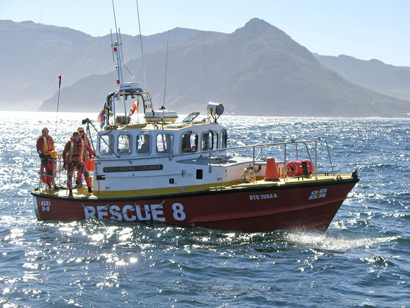 Search for missing man after boat collision near Hout Bay