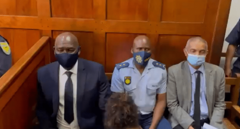 Minister Bheki Cele in Cape Town for Nafiz Modack's court appearance