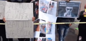 Watch: Nafiz Modack supportersgather at Cape Town Magistrate's Court, call for his release