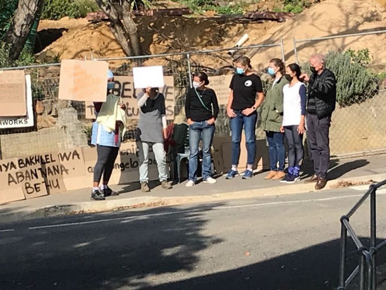 'Racist' teacher's remarks spark protest at private Cape Town school