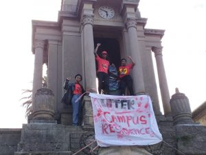 EFF deface statue of Jan Smut at UCT