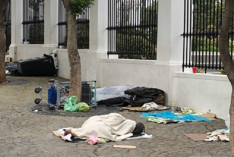 Cape Town homeless could soon be fined if they refuse shelter