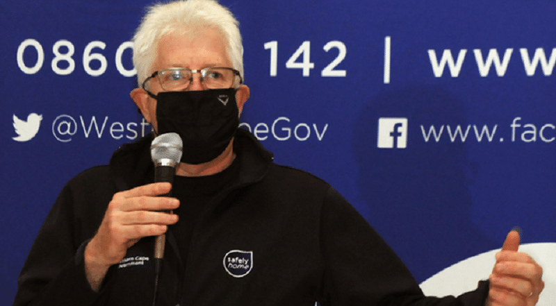 Western Cape Premier Alan Winde Picture: African News Agency (ANA)