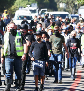 Cape Town protesters march against proposed ban on firearm ownership for self-defence