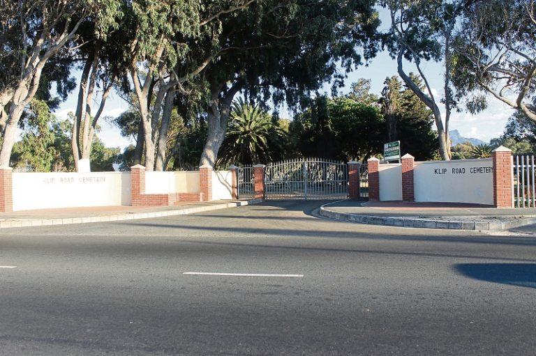 Klip Road cemetery