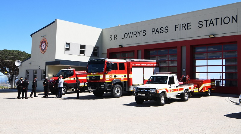Sir Lowry's Pass fire station officially opened