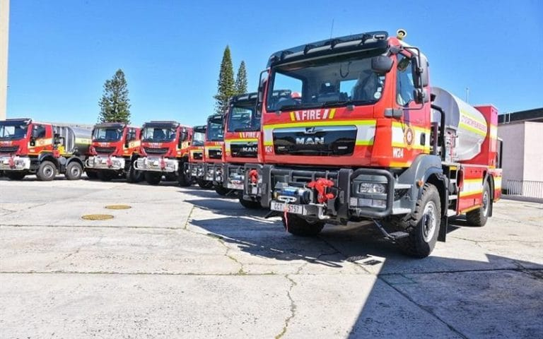 City of Cape Town unveils 19 new vehicles to boost firefighting efforts