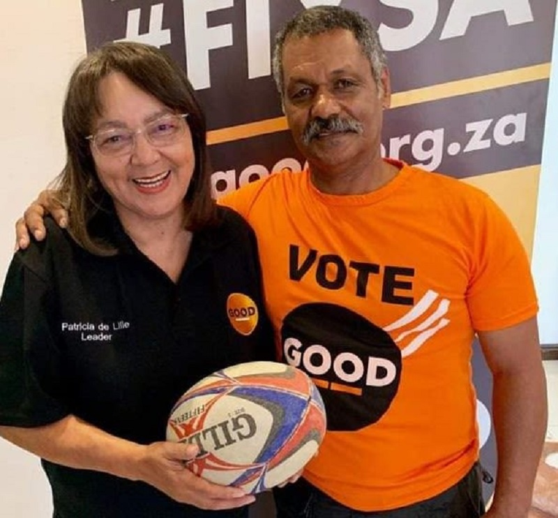 Former Springbok coach Peter de Villiers announced as mayoral candidate for GOOD party