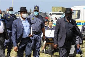 Police Minister Bheki Cele says it's a lie that government is not addressing crime in the Western Cape